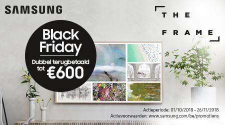 Samsung The Frame - Tot €600 Black Friday cashback